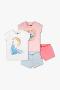 Die Eiskönigin - Shorty-Pyjama - Bio-Baumwolle - 2er Pack