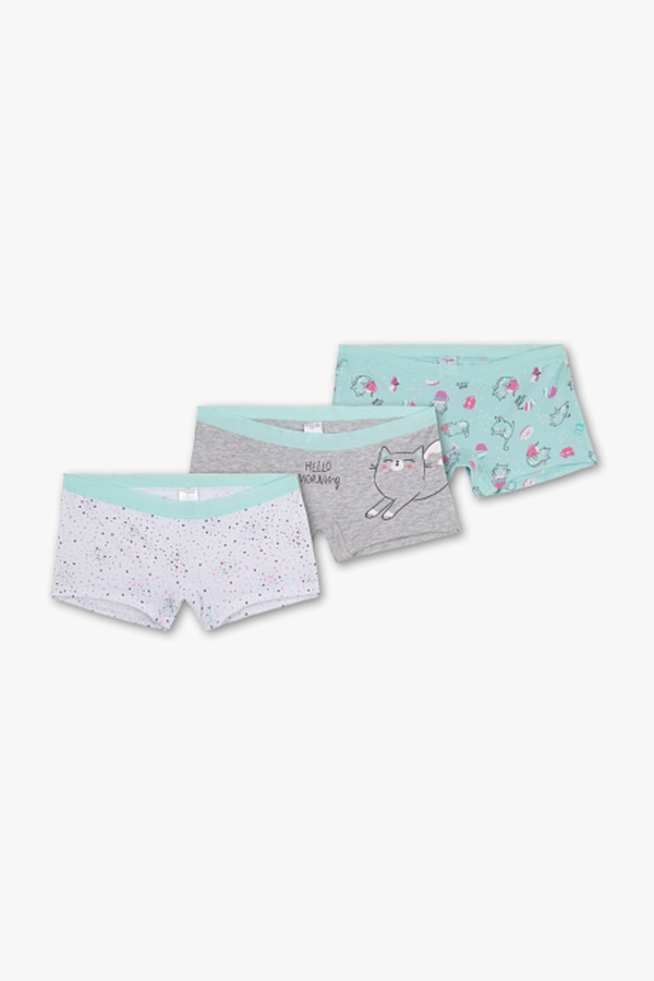 Here and There         Boxershorts - Bio-Baumwolle - 3er Pack