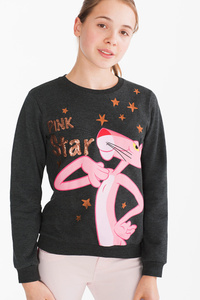 Pink Panther - Sweatshirt - Glanz Effekt