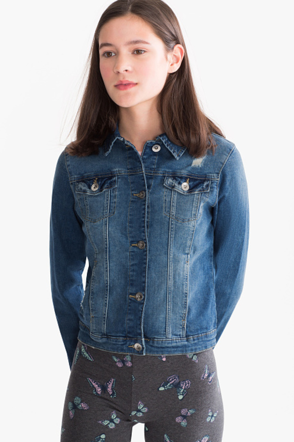 Here and There         Jeans-Jacke