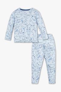 Palomino         Pyjama - Bio-Baumwolle - 2 teilig