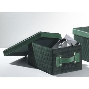 casaNOVA Aufbewahrungsbox klein 20 x 30 ES GRÜNT SO GRÜN