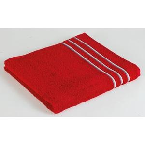 VOSSEN Handtuch BLISSFUL 50 x 100 cm in Rot