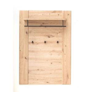 CASAVANTI Garderobenpaneel CALIA 27 x 85 x 122 cm Holznachbildung braun