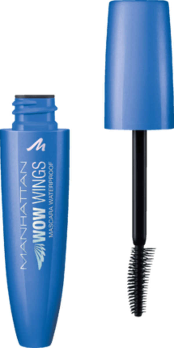 MANHATTAN Cosmetics Wimperntusche WOW Wings Waterproof Mascara black 006