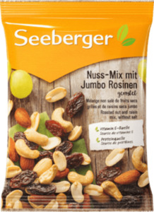 Seeberger Nuss-Mix mit Jumbo Rosinen