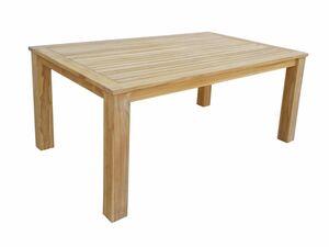 Grasekamp Teak Tisch 160x100 cm Esstisch  Gartenmöbel Möbel Gartentisch Holztisch