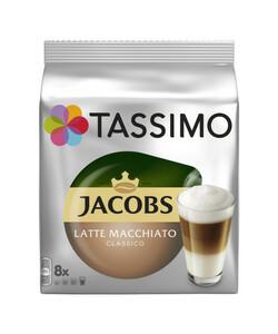 Tassimo Jacobs Latte Macchiato Classico 8x 33 g