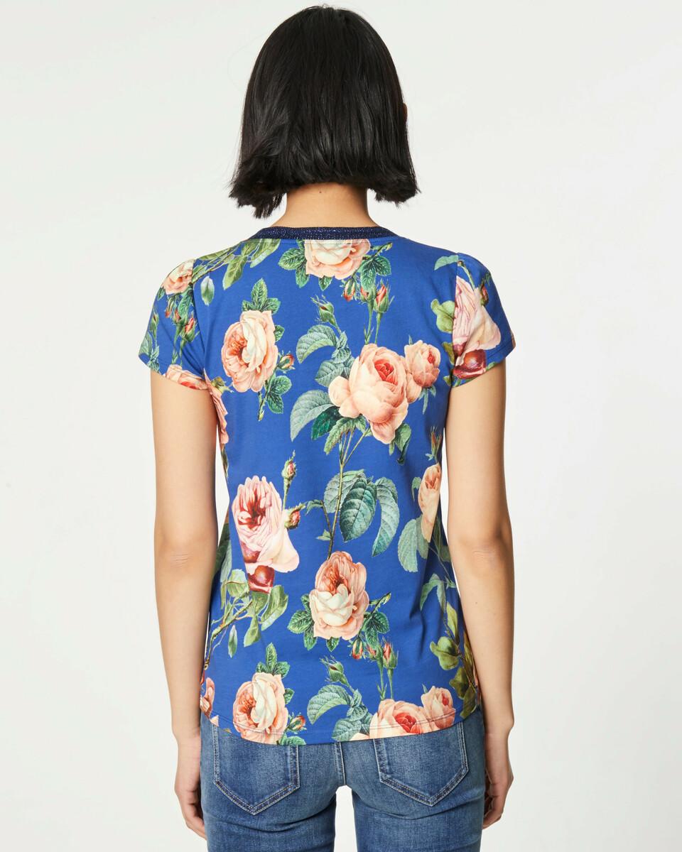 Bild 4 von V-Shirt mit Rosenprint