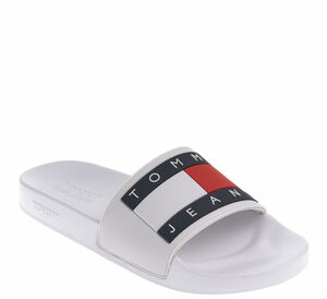 Tommy Jeans Pantolette - FLAG POOL SLIDE
