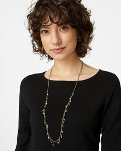 Halskette mit Miniperlen