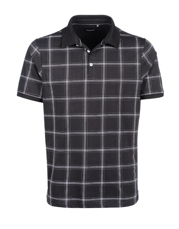 Bexleys man - Poloshirt, kurzarm, kariert