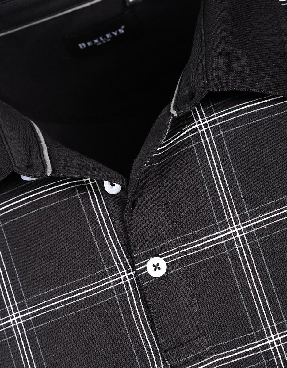 Bild 3 von Bexleys man - Poloshirt, kurzarm, kariert