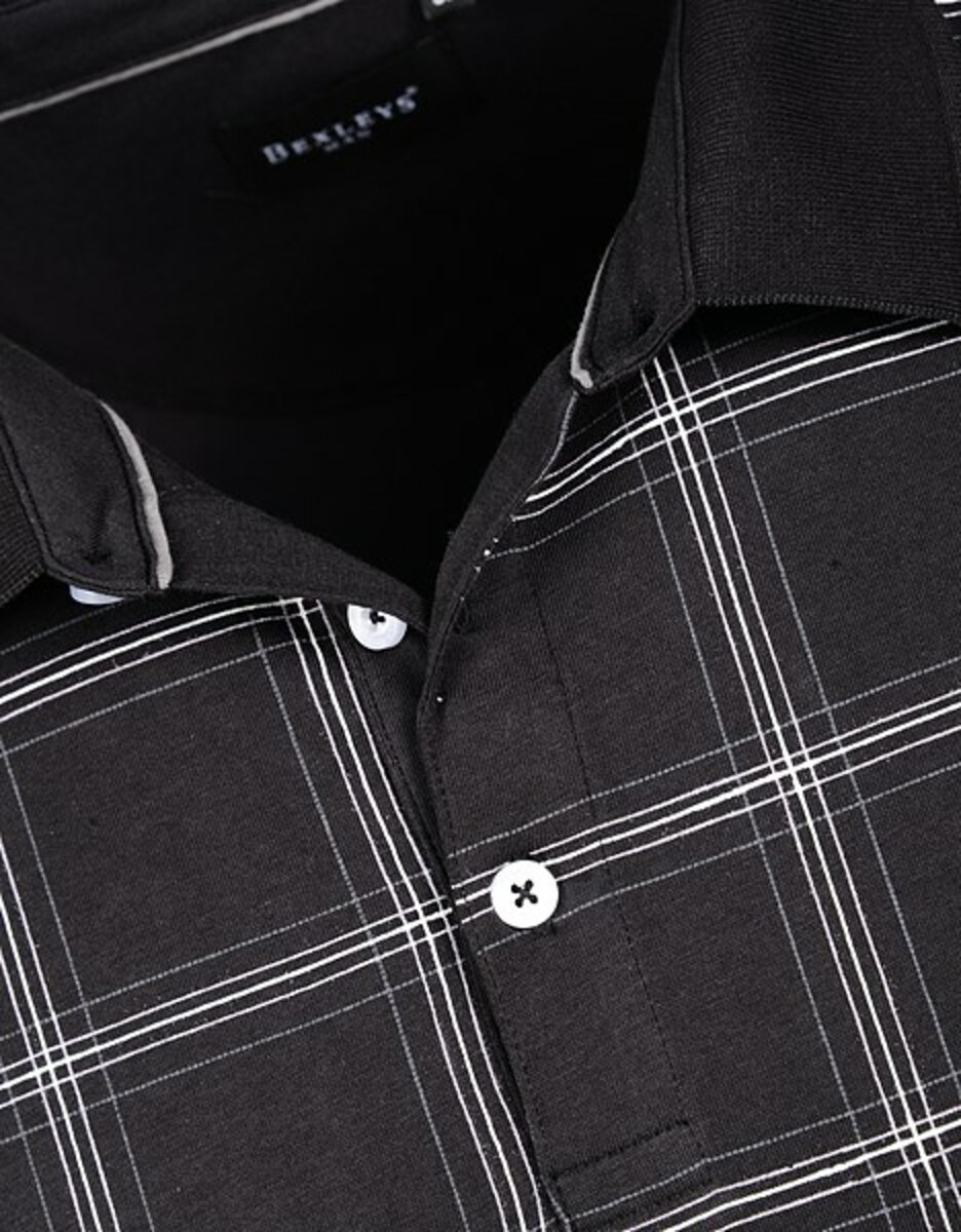 Bild 4 von Bexleys man - Poloshirt, kurzarm, kariert