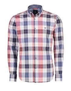 Lerros - Langarmhemd mit Oxfordcheck