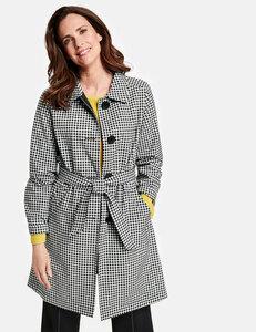 Mantel mit Vichy-Karo