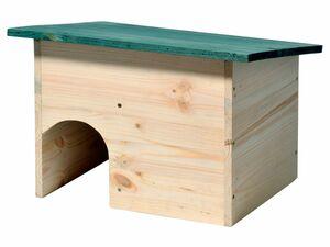 dobar Igelhaus mit wetterfestem Dach und Schleuse