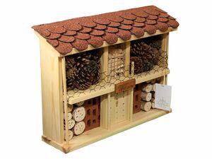 dobar Insektenhotel Bausatz Landhaus Komfort