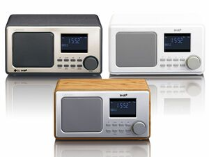 Lenco DAR-010 DAB+ Radio mit PLL-FM-Radio