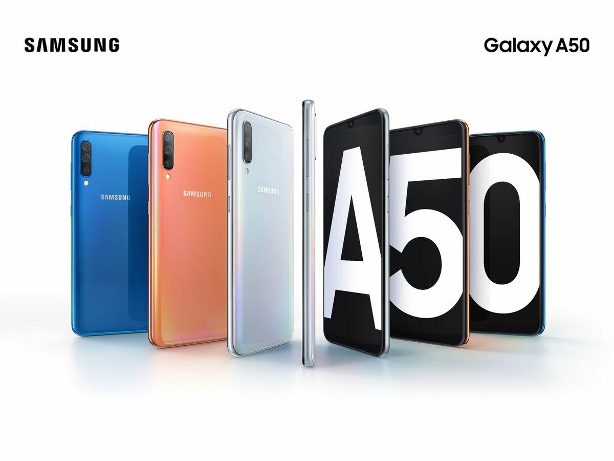 Bild 2 von SAMSUNG Smartphone Galaxy A50