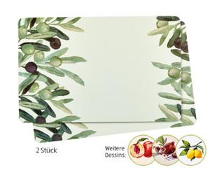 tukan 2 Platzsets oder 6 Glasuntersetzer
