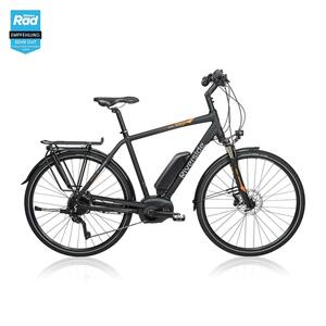 E-Bike 28 Trekkingrad Riverside 700 Herren Peformance CX 500Wh anthrazit/orange