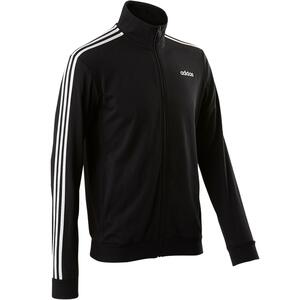 Trainingsjacke 100 Gym & Pilates Herren schwarz