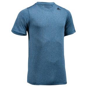T-Shirt E2 Fitness Cardio Herren blau