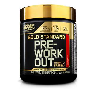Pre-Workout Gold Standard Fruit Punch 330 g