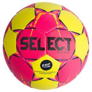 Handball Solera Größe 2 rosa/gelb