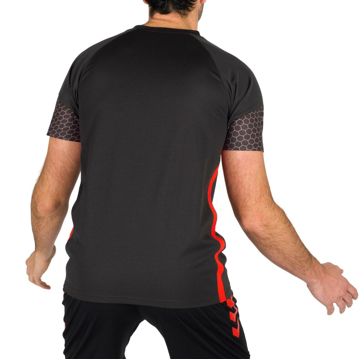 Bild 4 von Handballtrikot Herren grau/rot