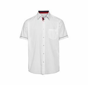 Reward classic Herren-Hemd mit schickem Kontrast-Streifen