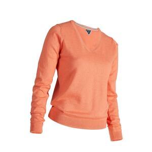 Golf Pullover Damen apricot