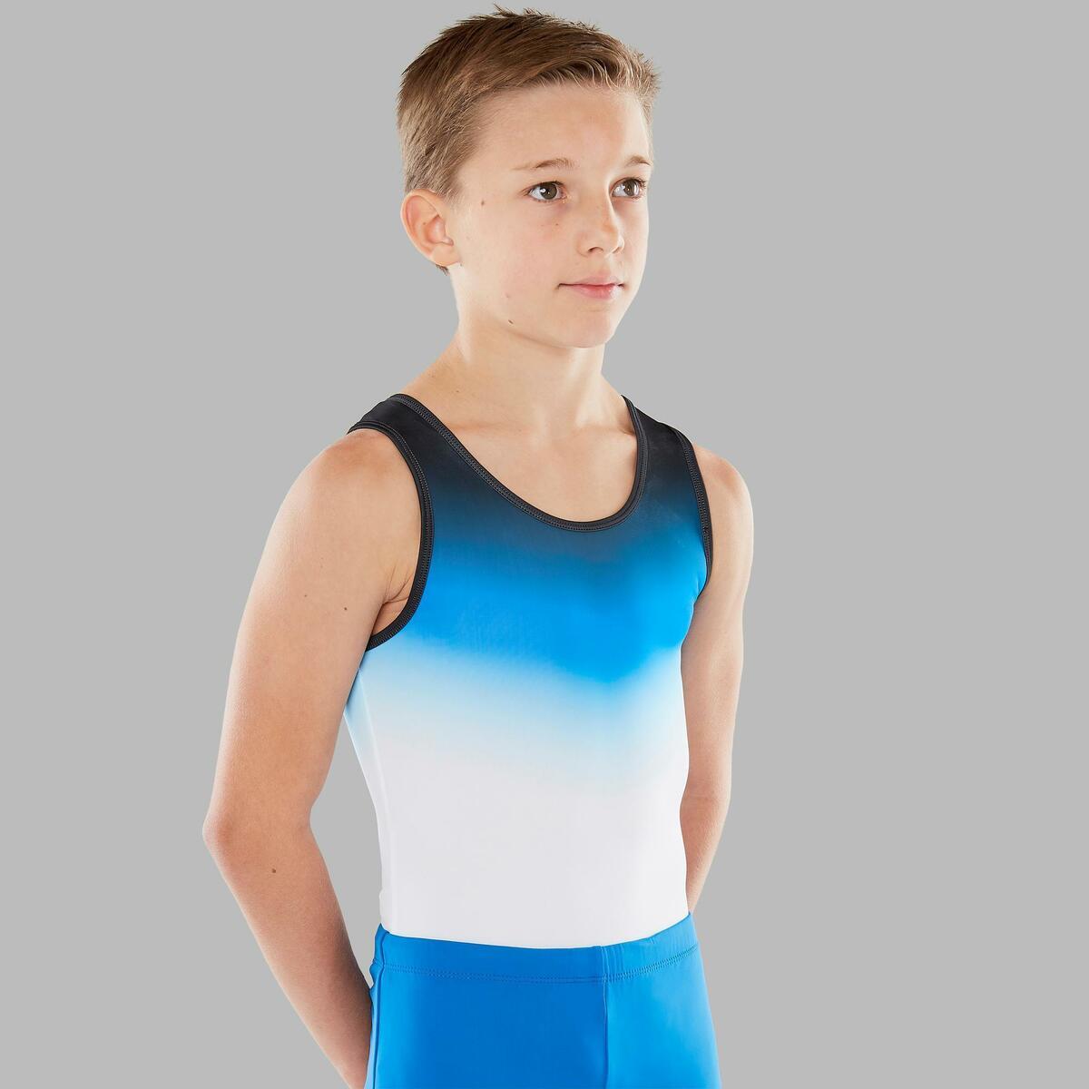Bild 1 von Turnanzug Kunstturnen Jungen Herren blau