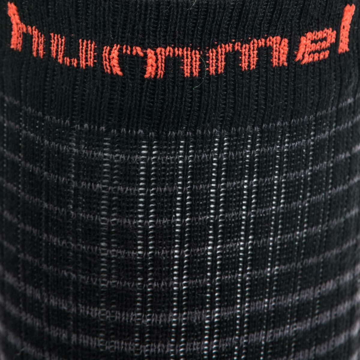 Bild 3 von Handballsocken Mid Erwachsene schwarz/rot