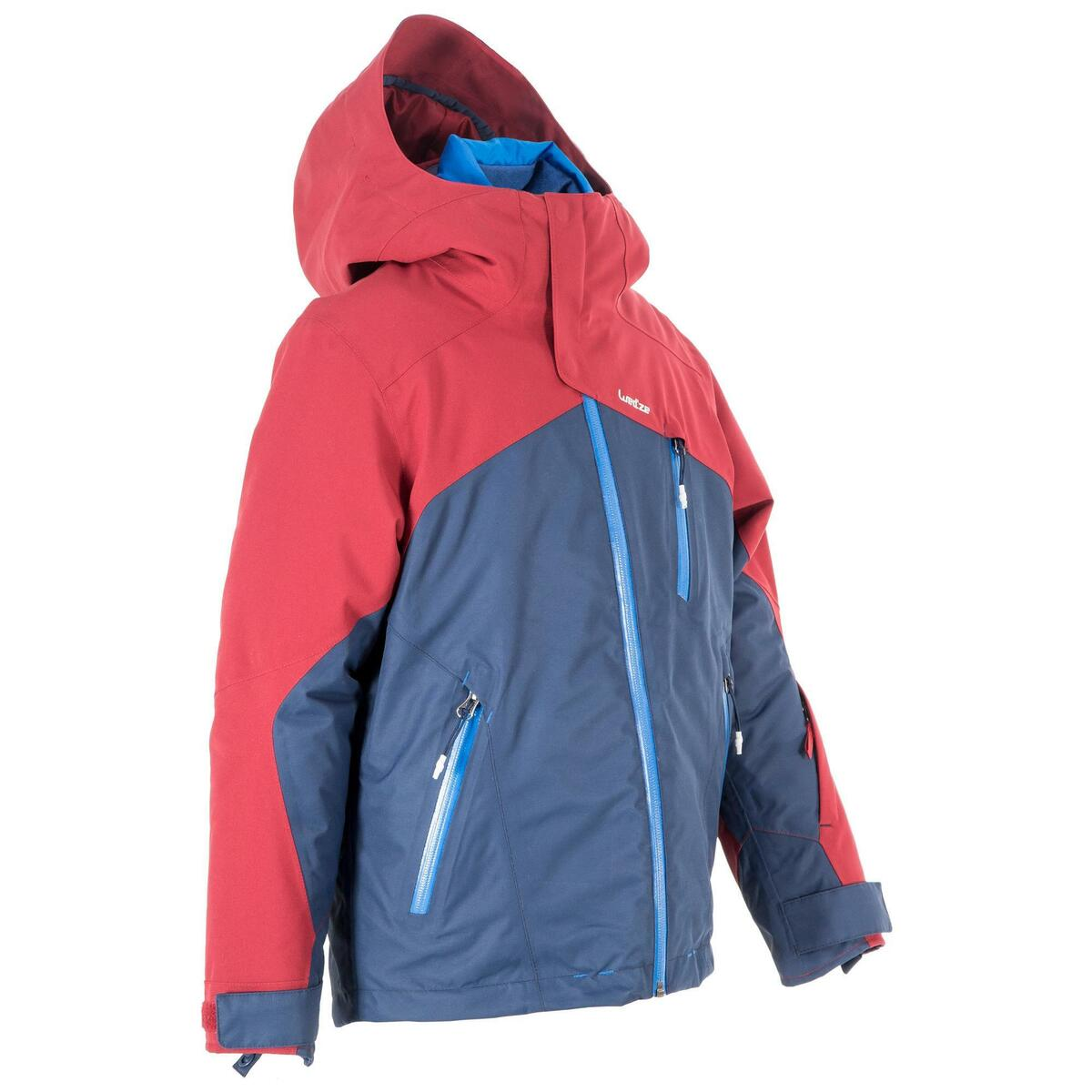Bild 2 von Skijacke All Mountain Kinder 990 blau bordeaux