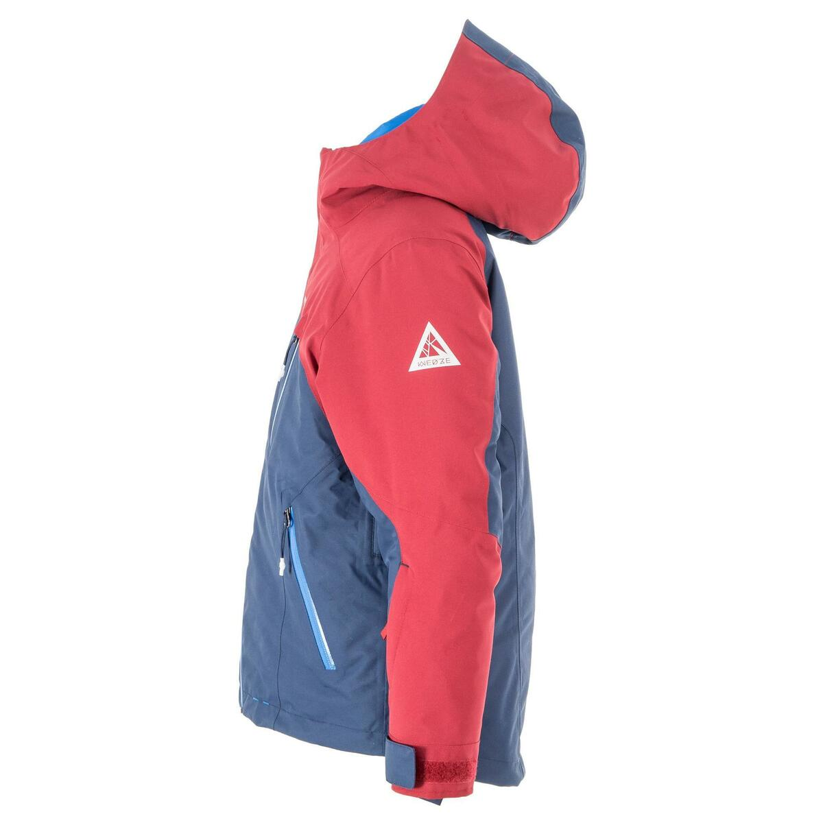 Bild 5 von Skijacke All Mountain Kinder 990 blau bordeaux