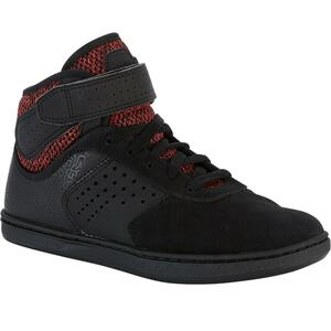 Skateschuh Crush 520 High Kinder schwarz/rot