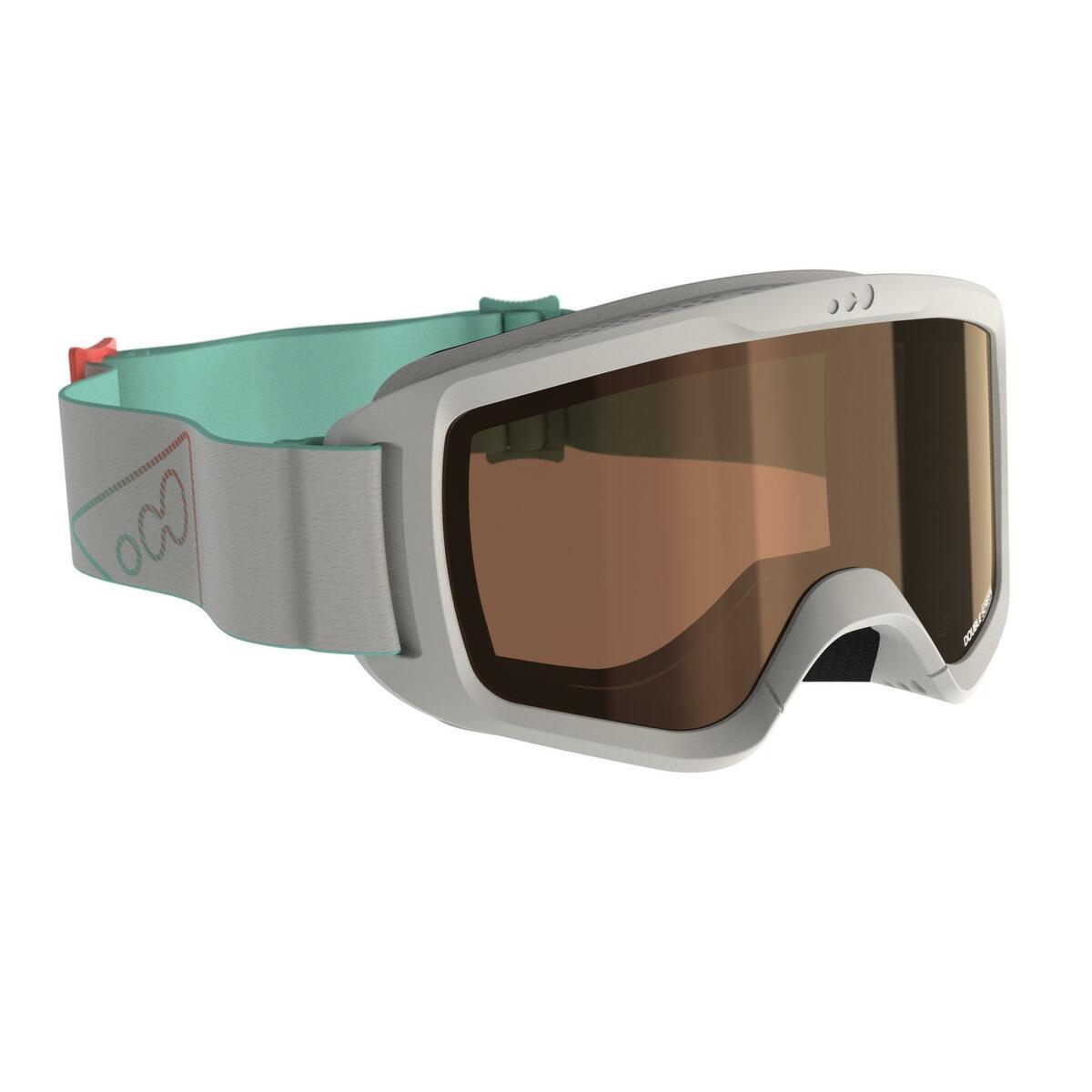 Bild 1 von Skibrille G 140 S3 Mädchen und Frauen schönes Wetter grau