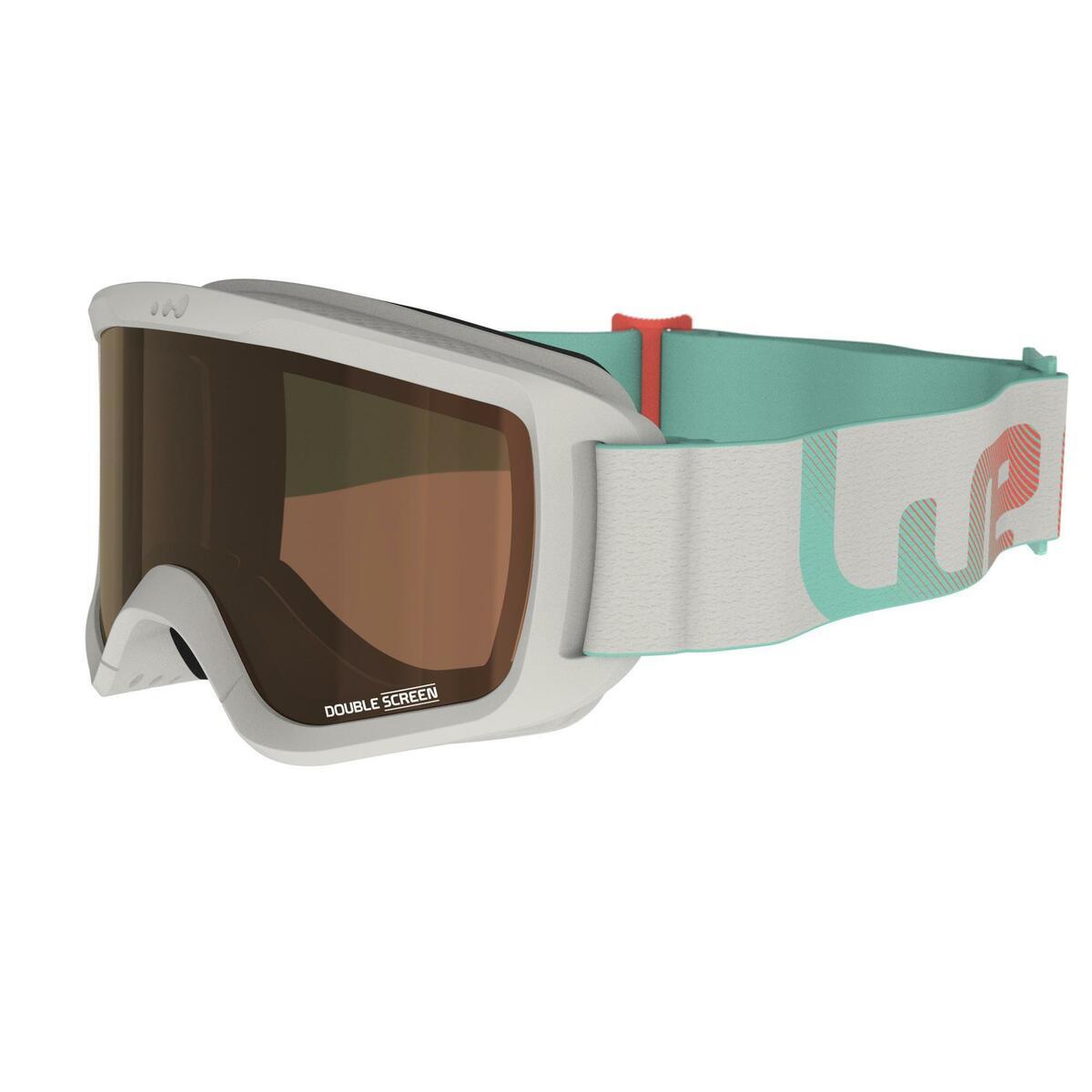 Bild 2 von Skibrille G 140 S3 Mädchen und Frauen schönes Wetter grau