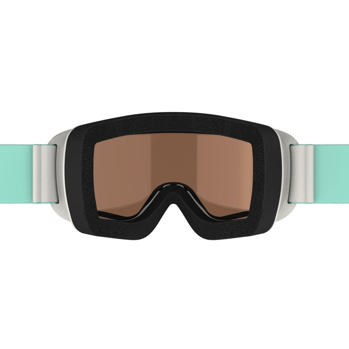 Bild 4 von Skibrille G 140 S3 Mädchen und Frauen schönes Wetter grau
