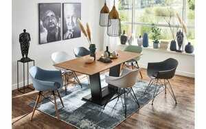 Niehoff - Stuhlgruppe Tulip/Palace aus Balkeneiche/schwarz