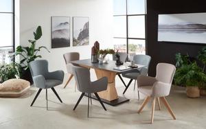 Niehoff - Stuhlgruppe Avalon/Skyline aus Charaktereiche/Granit