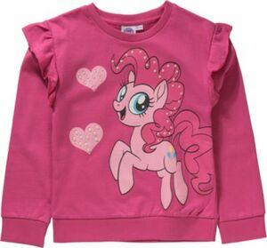 My little Pony Sweatshirt mit Volants und Perlenapplikation pink Gr. 116/122 Mädchen Kinder