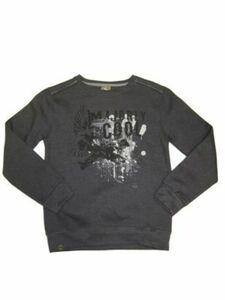 Million X Kids Jungen Sweatshirt Andrew Langarmshirts grau Gr. 152 Jungen Kinder