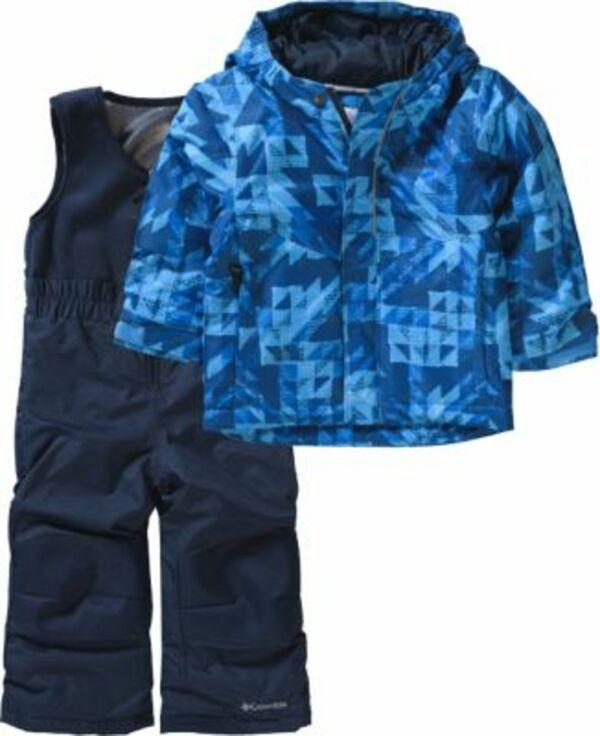 Kinder Schneeanzug zweiteilig BUGA blau Gr. 74