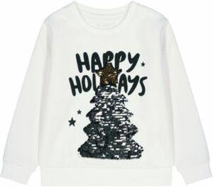 Sweatshirt offwhite Gr. 152 Mädchen Kinder