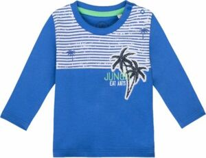 Baby Langarmshirt blau Gr. 86 Jungen Kleinkinder