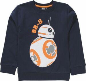 Star Wars Sweatshirt BB-8 blau Gr. 104/110 Jungen Kleinkinder
