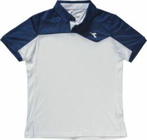 Tennis Poloshirt blau Gr. 116 Jungen Kinder